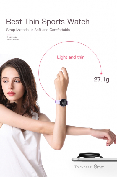 Bratara fitness BozlunSkmei B16 Monitorizare Perioada Menstruala Fitness Tracker 8