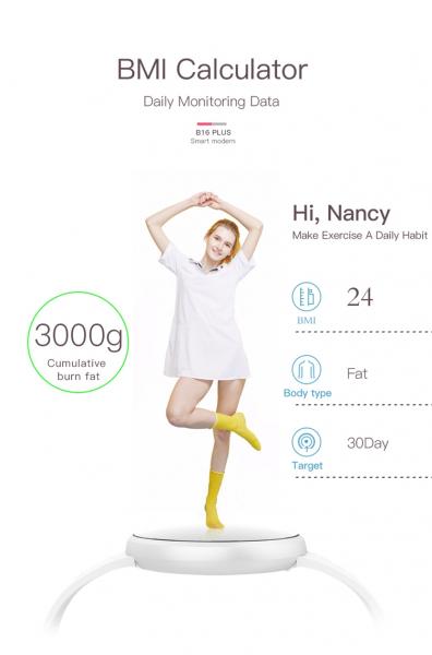 Bratara fitness BozlunSkmei B16 Monitorizare Perioada Menstruala Fitness Tracker 7