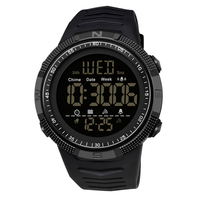 Ceas barbatesc Sport Tio Digital Alarma Cronometru Rezistent la apa si socuri [0]