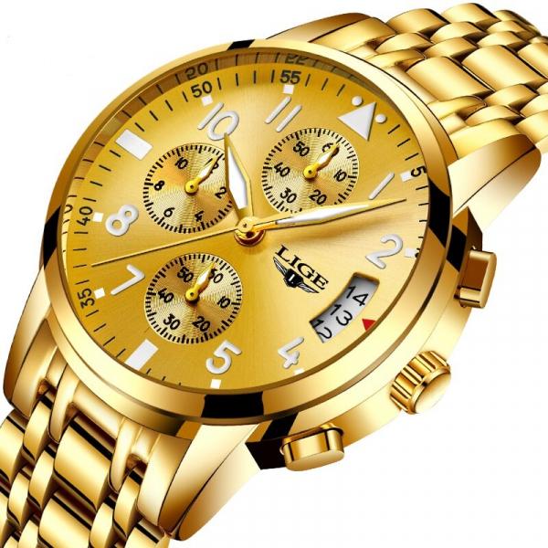 Ceas barbati Lige Luxury Fashion Business Quartz [1]