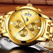 Ceas barbati Lige Luxury Fashion Business Quartz [4]