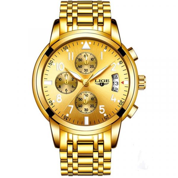 Ceas barbati Lige Luxury Fashion Business Quartz [0]