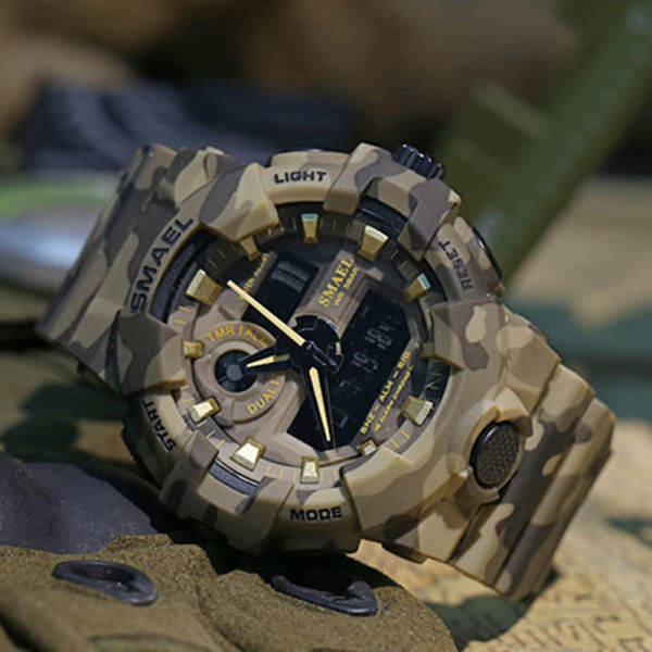 Ceas barbatesc, Smael, Militar, Army, Analog, Digital, Sport, G-Shock 4