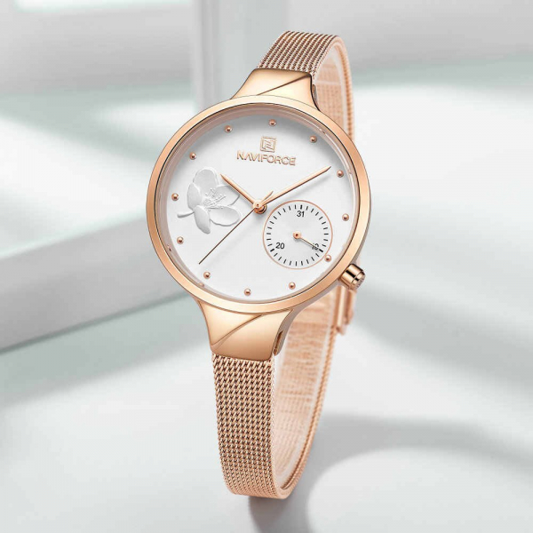 Ceas dama Naviforce Quartz Elegant Fashion 3
