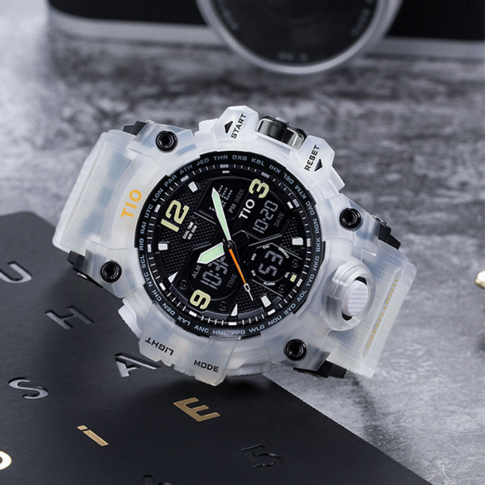 Ceas Militar Tio Sport Digital Cronograf Quartz Rezistent la apa si socuri [1]