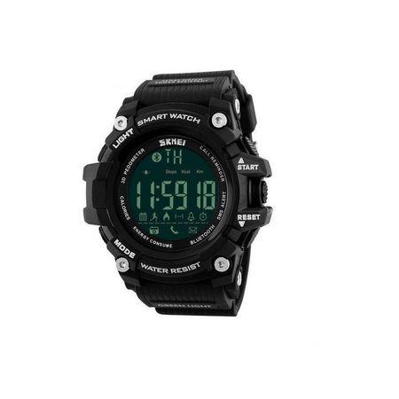Ceas Smartwatch Barbati, Skmei 1227, Militar, Digital,  Sport, Army, Cronograf, Registru apeluri, Calorii, Pasi, Distanta, Monitorizare Calorii 0