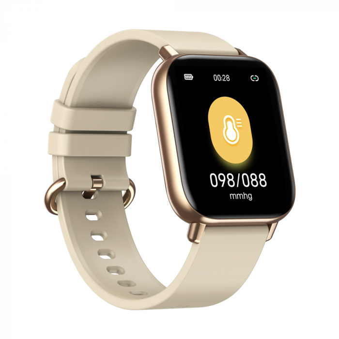 Ceas smartwatch Zeblaze GTS Pro Fitness Tracker Monitorizeaza ritmul cardiac Compatibil AndroidIOS [2]