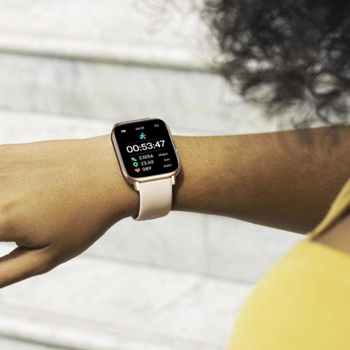 Ceas smartwatch Zeblaze GTS Pro Fitness Tracker Monitorizeaza ritmul cardiac Compatibil AndroidIOS [6]