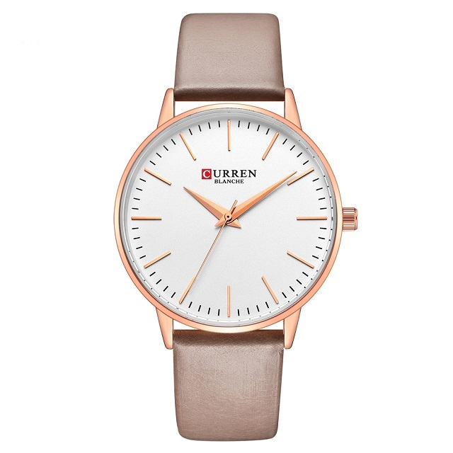 Curren Ceas dama Quartz Casual Fashion Auriu 0