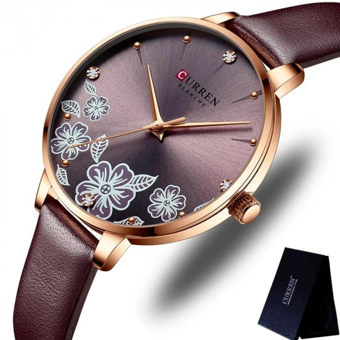 Curren Ceas de mana dama Quartz Elegant 1