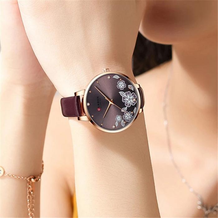 Curren Ceas de mana dama Quartz Elegant 3