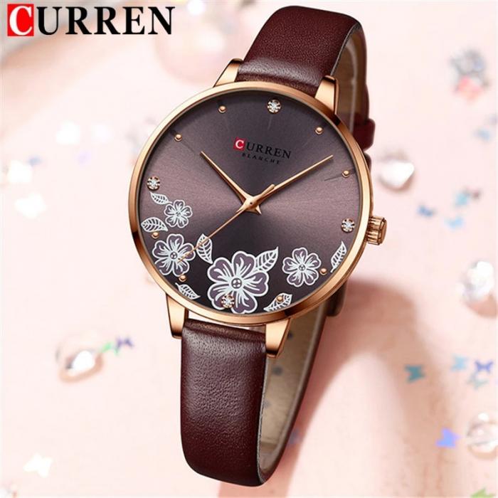 Curren Ceas de mana dama Quartz Elegant 4