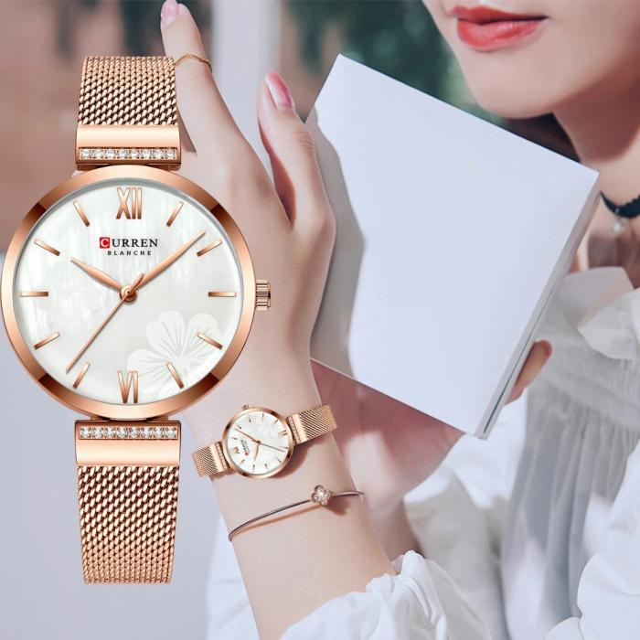 Curren Ceas de mana pentru femei Mecanism Quartz [5]