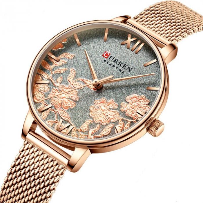 Curren Ceas de mana pentru femei Quartz Casual 1