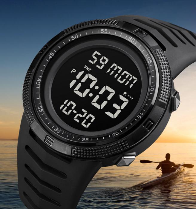 Skmei Ceas barbatesc Digital Sport Alarma Cronometru [2]