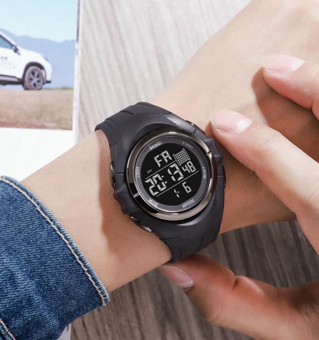 Skmei Ceas barbatesc Sport Digital Cronometru Alarma [5]