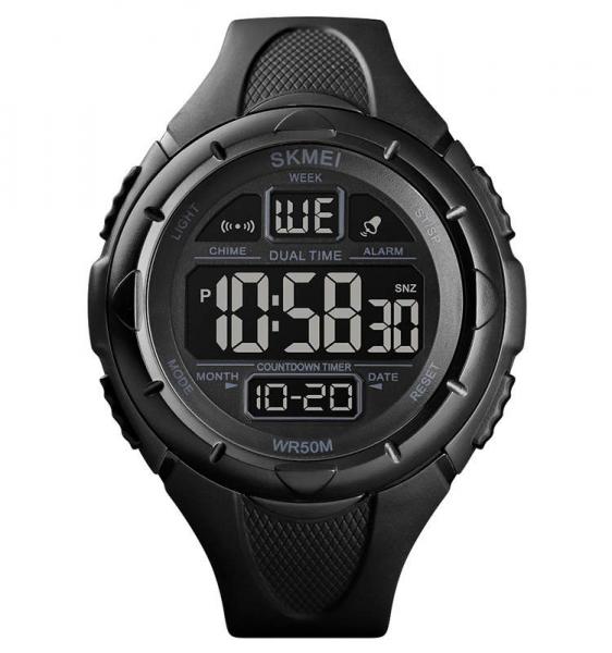 Skmei Ceas pentru barbati Sport Digital Dual Time [0]