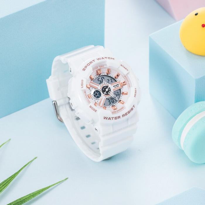 Skmei Ceas pentru copii Sport Digital Cronometru Alarma [2]