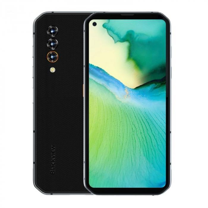 Telefon mobil Blackview BL6000 Pro Gri, 5G, Android 10, 5280mAh, IPS 6.36, 8GB RAM, 256GB ROM, Dimensity 800, NFC, IP68, Dual SIM 3