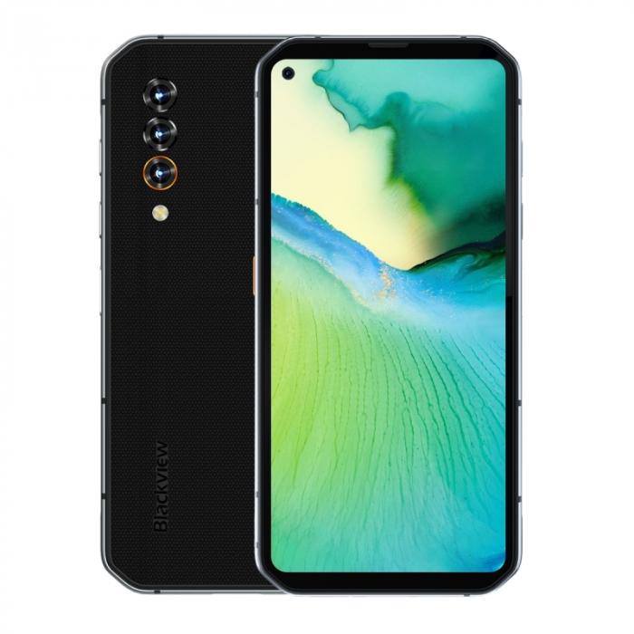 Telefon mobil Blackview BL6000 Pro Gri, 5G, Android 10, 5280mAh, IPS 6.36, 8GB RAM, 256GB ROM, Dimensity 800, NFC, IP68, Dual SIM 8