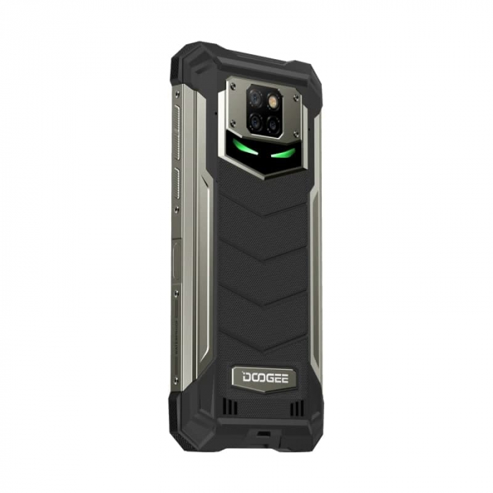 Telefon mobil Doogee S88 Plus, IPS 6.3, 4G, 8GB RAM, 128GB ROM, Android 10, Helio P70 OctaCore, NFC, Waterproof, 10000mAh, Dual SIM, Negru 4