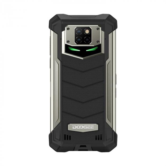 Telefon mobil Doogee S88 Plus, IPS 6.3, 4G, 8GB RAM, 128GB ROM, Android 10, Helio P70 OctaCore, NFC, Waterproof, 10000mAh, Dual SIM, Negru 3
