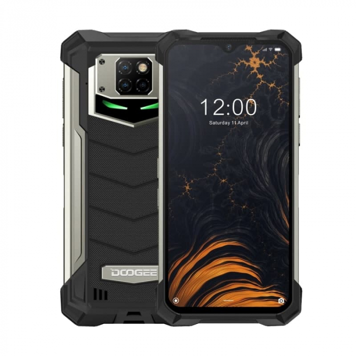 Telefon mobil Doogee S88 Plus, IPS 6.3, 4G, 8GB RAM, 128GB ROM, Android 10, Helio P70 OctaCore, NFC, Waterproof, 10000mAh, Dual SIM, Negru [2]