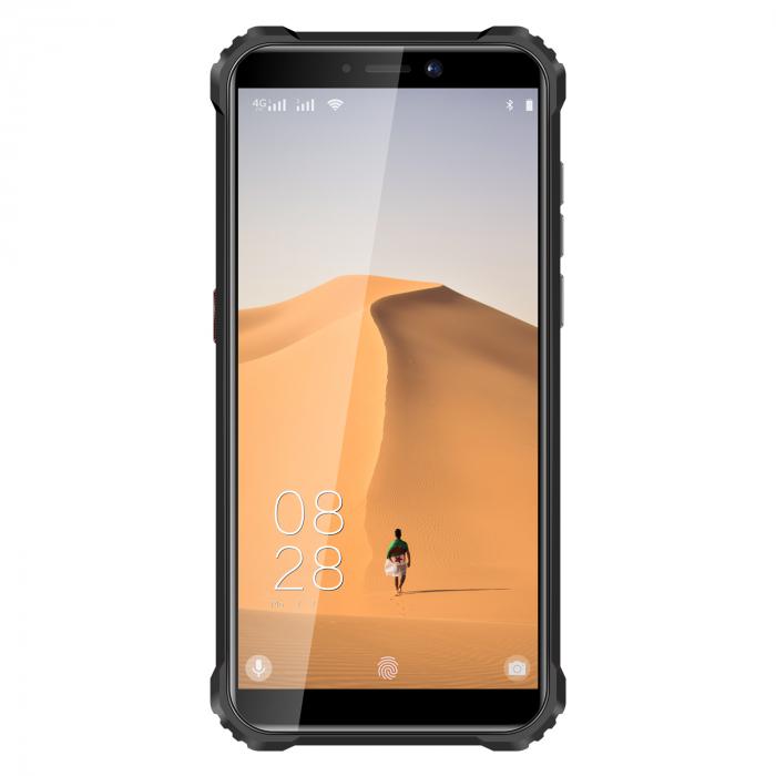 Telefon mobil Oukitel WP5, Smartphone rezistent, Baterie 8000 mAh IPS 5.5inch, 4GB RAM, 32GB ROM, Android 9.0, Orange 1