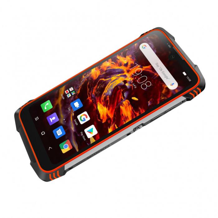 Telefon mobil, smartphone Blackview BV6900, Helio P25 OctaCore, 4G, IPS 5.84inch, 4GB RAM, 64GB RAM, Android 9.0, Waterproof, 5580mAh, Dual SIM 4