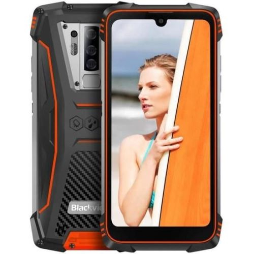 Telefon mobil, smartphone Blackview BV6900, Helio P25 OctaCore, 4G, IPS 5.84inch, 4GB RAM, 64GB RAM, Android 9.0, Waterproof, 5580mAh, Dual SIM 0