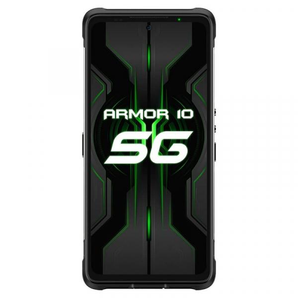 Telefon mobil Ulefone Armor 10 Negru, 5800 mAH, 5G, Android 10, Dual Sim,  6.67 FHD+, 8GB RAM, 128GB ROM ROM, Dimensity 800, NFC, IP68, 8000mAh 1