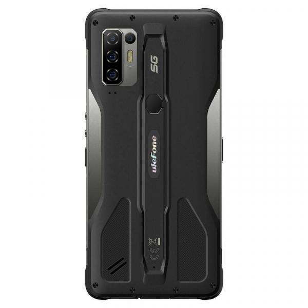 Telefon mobil Ulefone Armor 10 Negru, 5800 mAH, 5G, Android 10, Dual Sim,  6.67 FHD+, 8GB RAM, 128GB ROM ROM, Dimensity 800, NFC, IP68, 8000mAh 2