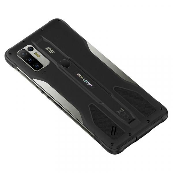Telefon mobil Ulefone Armor 10 Negru, 5800 mAH, 5G, Android 10, Dual Sim,  6.67 FHD+, 8GB RAM, 128GB ROM ROM, Dimensity 800, NFC, IP68, 8000mAh 4