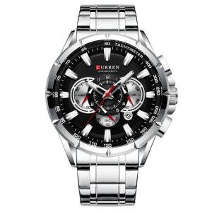 Ceas Curren Sport Otel inoxidabil Cronograf Luxury Business Fashion1