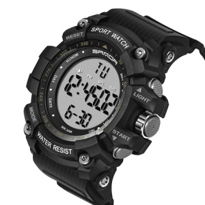 Ceas barbatesc Sanda, Sport, Militar, Army, Fashion, LED, Outdoor, Digital, Rezistent la apa, Cronometru, Alarma, Calendar1
