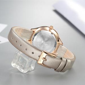 Ceas de dama casual, Top Brand, Fashion, Quartz, Piele2