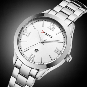 Ceas de dama elegant, Curren, Quartz, Fashion, Quartz, Otel inoxidabil4