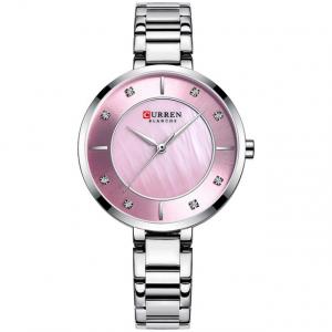 Ceas de dama original, Curren, Ceas pentru femei elegant, Quartz, Otel inoxidabil1