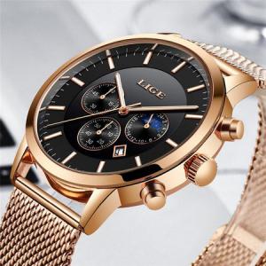 Ceas barbatesc, Lige, Elegant, Luxury, Business, Mecanism Quartz, Cronograf, Otel inoxidabil2
