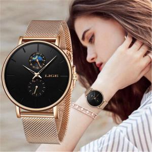 Ceas de mana dama, Lige, Elegant, Clasic, Quartz, Fashion, Business, Ultra subtire5