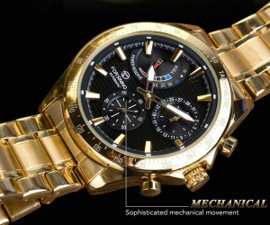 Ceas mecanic automatic, Self Wind, 2020, Fashion, Casual, Top Brand Luxury8