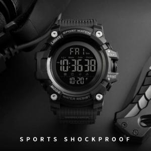 Ceas militar pentru barbati Sport Digital Rezistent la socuri Cronograf2