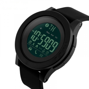 Ceas smartwatch Skmei 1255, Pedometru, Calorii, Distanta, Bluetooth, Buton Fotografiere0