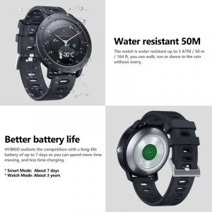 Ceas smartwatch hybrid, Monitorizeaza starea de sanatate, Activitati Fitness [10]