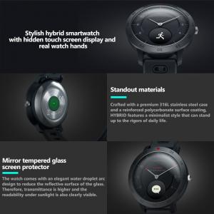 Ceas smartwatch hybrid, Monitorizeaza starea de sanatate, Activitati Fitness [11]