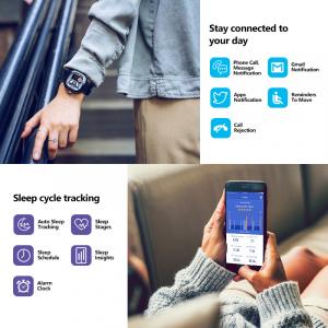 Ceas smartwatch mecanic Zeblaze Hybrid 2, Monitorizeaza sanatatea si activitatea fitness18