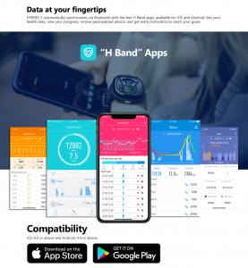 Ceas smartwatch mecanic Zeblaze Hybrid 2, Monitorizeaza sanatatea si activitatea fitness9