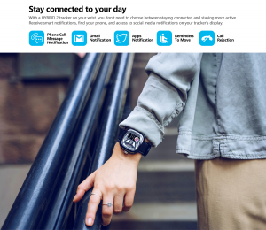 Ceas smartwatch mecanic Zeblaze Hybrid 2, Monitorizeaza sanatatea si activitatea fitness10