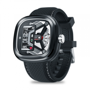 Ceas smartwatch mecanic Zeblaze Hybrid 2, Monitorizeaza sanatatea si activitatea fitness0