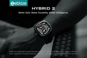 Ceas smartwatch mecanic Zeblaze Hybrid 2, Monitorizeaza sanatatea si activitatea fitness15